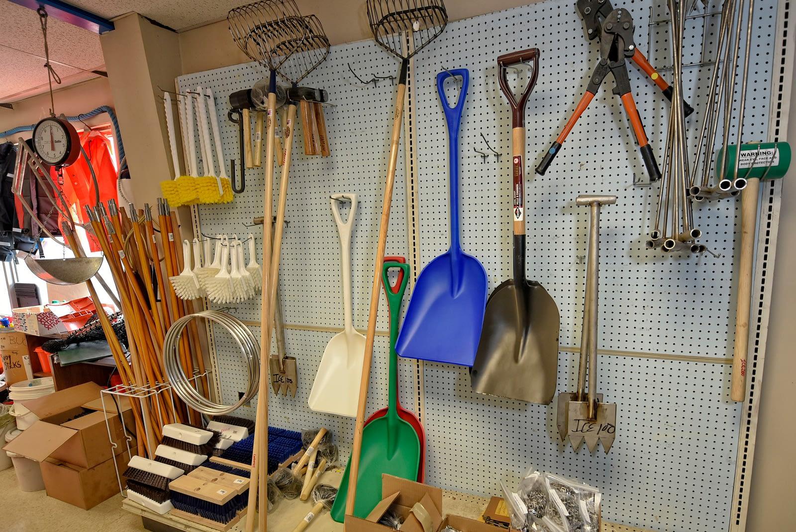 Fishing supplies and tools, Hercules Marine fishing supply company