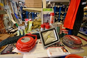 marine fishing supplies